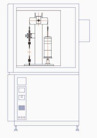 3連式ワイヤ通電サイクル試験装置