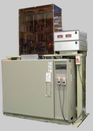 二本掛恒温電気-機械引張-クリープ試験機