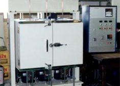 ゴム圧縮クリープ試験機