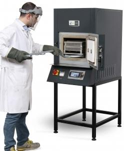 アスファルト混合物組成分析装置(燃焼分析)
