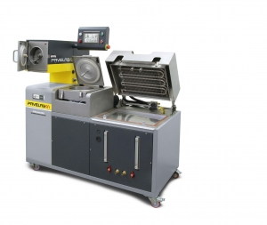 熱アスファルト混合物自動抽出装置 PAVELAB50