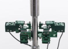 Model 3550 軸/ねじれ同時測定伸び計